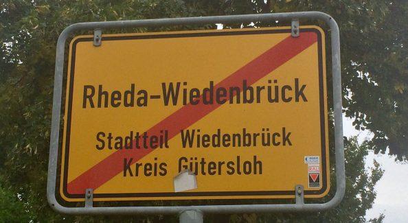 Bank in Rheda Wiedenbrück